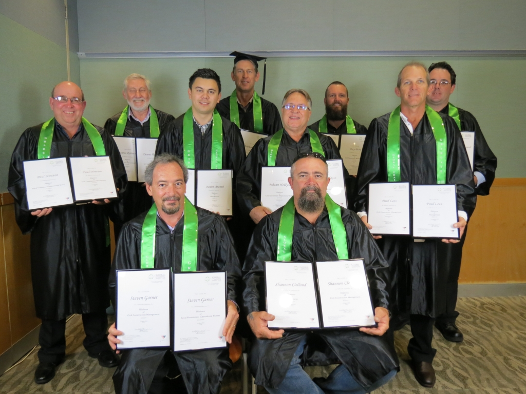Our group of Civil Construction Graduates!