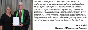 The Diploma of Management online will equip you with practical skills