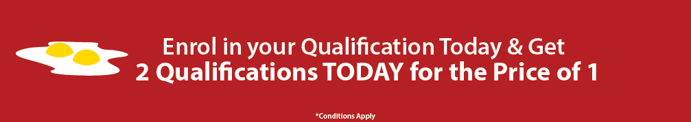 Two qualifications for the price of one at Global Training Institute! This offer is available in September!