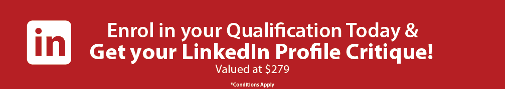 Enrol in your online qualification with Global Training Institute in August and receive a FREE LinkedIn profile critique!