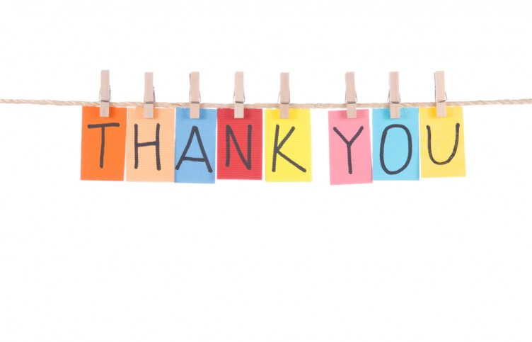 Global Training Institute knows how important it is to say thank you. Here are some tips on how to say it.